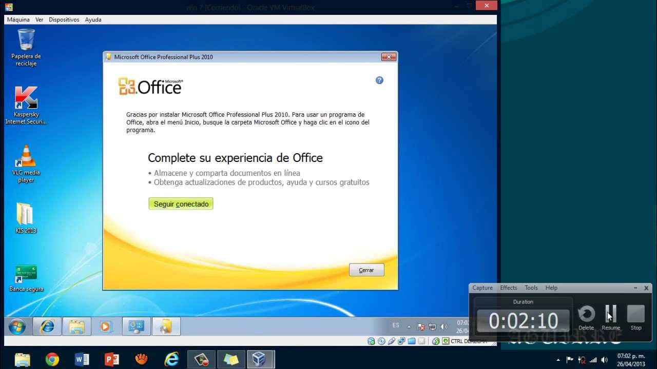Como Instalar Office 2010 En Virtual Box Alejandro