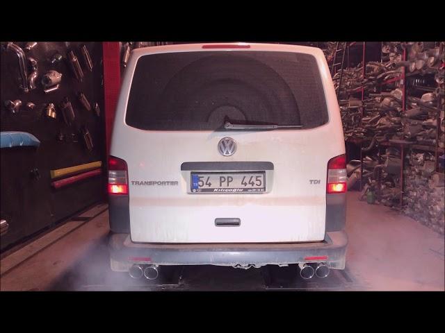 VW TRANSPORTER 2.0 DİZEL KUMANDALI VAREX EGZOZ SESİ