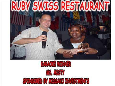 Ruby Swiss karaoke winner