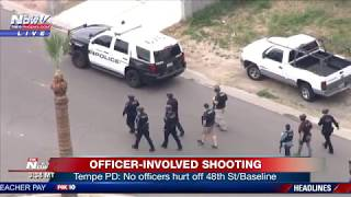 FNN: Officer-Involved Shooting in Tempe, LA SkyFOX searches for police chase in Orange County