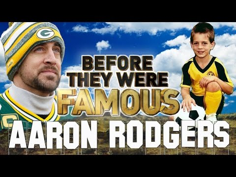 AARON RODGERS - Before They Were Famous - Green Bay Packers QB and Olivia Munn BF