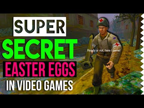 7 Super Secret Easter Eggs In Video Games #2
