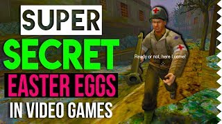 7 Super Secret Easter Eggs in Video Games!