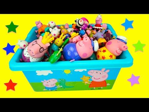 Свинка Пеппа игрушки из мультика  Игрушкин ТВ