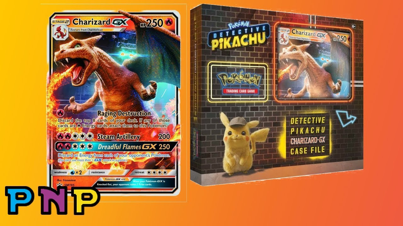 Detective Pikachu Charizard Gx Special Case File Pretty Neat Pack