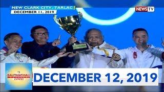 Balitanghali Express: December 12, 2019 [HD]