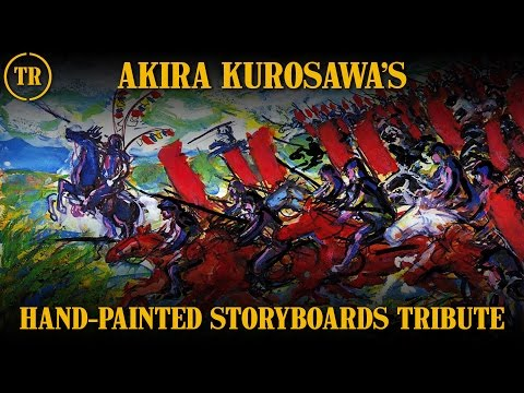 A Tribute To Akira Kurosawa's Hand-Painted Storyboards - Total Remake