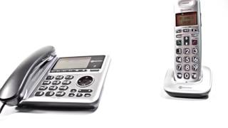 Produktvideo zu Schwerhörigen-Telefon Set Amplicomms BigTEL 1480