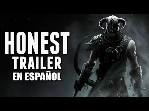 ELDER SCROLLS: SKYRIM (Honest Game Trailers en Español)