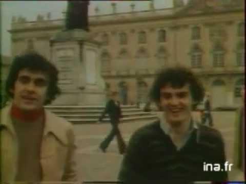 Michel Platini & Olivier Rouyer (AS Nancy Lorraine), les internationaux de Nancy