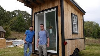 A Tiny Tailgating House/Cabin On Wheels- A 60 Square Foot DIY Camper