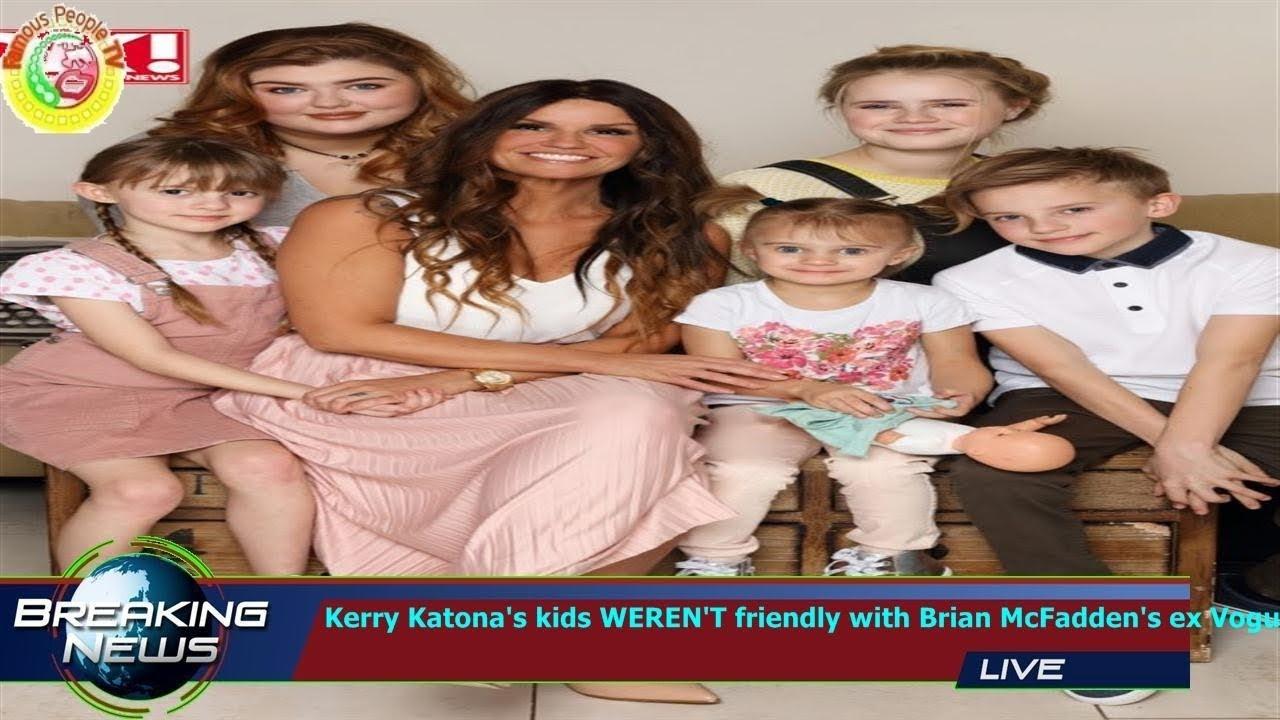 Kerry Katona's Kids WEREN'T Friendly With Brian McFadden's