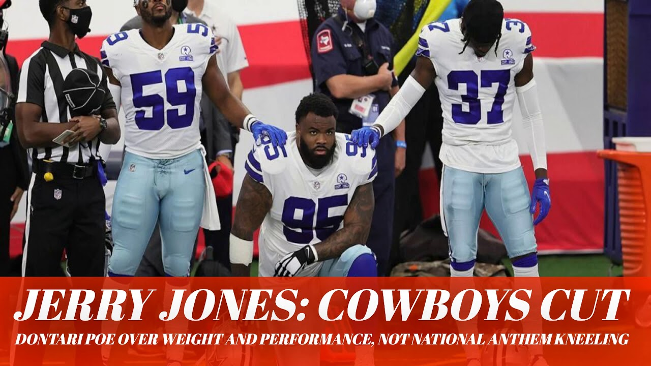 Jerry Jones: Cowboys cut Dontari Poe over weight and performance ...