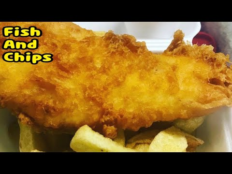 Fish And Chips /Make Halal Fish And Chips Uk Style By Yasmin's Cooking