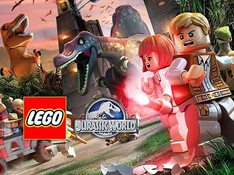 Lego Jurassic World Walkthrough Full Movie Episode Jurassic World Storyline Youtube