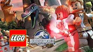 LEGO Jurassic World Walkthrough - Full Movie Episode (Jurassic World Storyline)