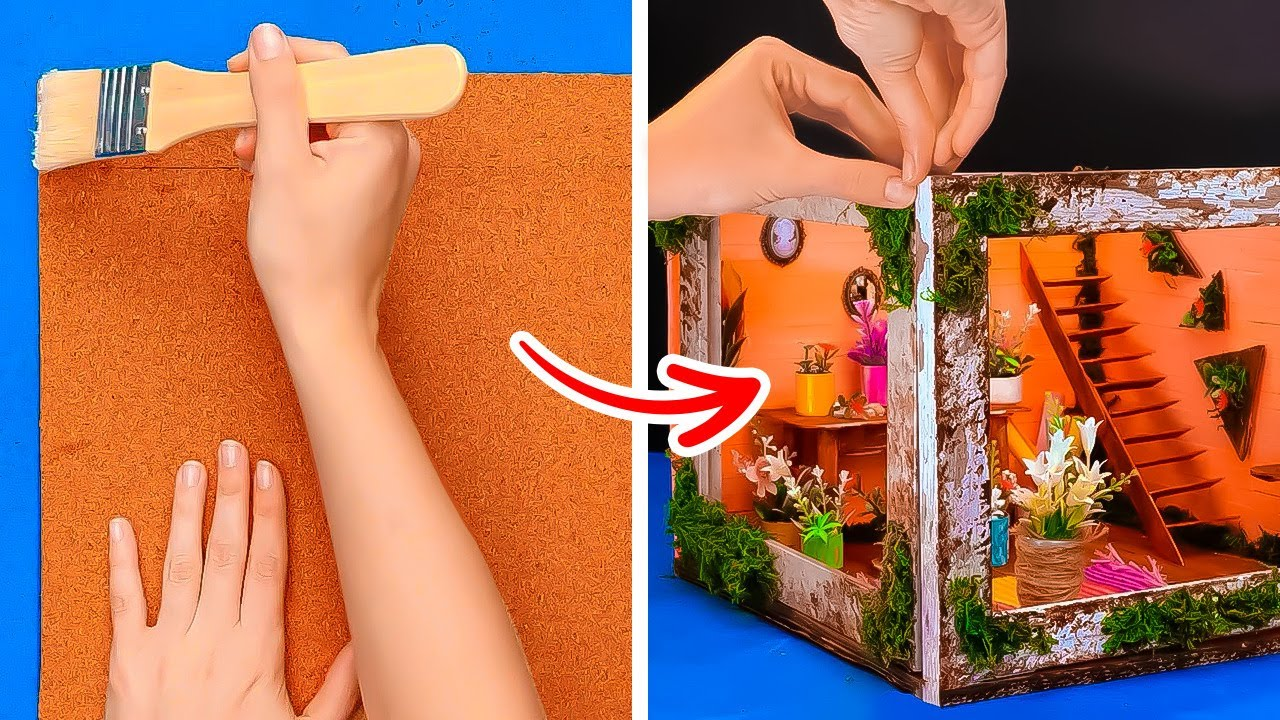 Awesome Miniature Crafts That Are Full Of Details