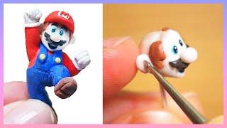 Super Mario Polymer Clay Figure Tutorial 폴리머클레이로 슈퍼마리오 피규어 만들기