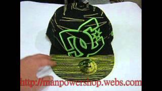DC Hat cap DC shoes Green Hat Cap #28