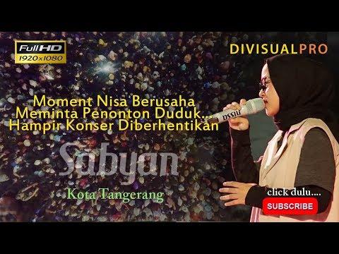 Sabyan FullHD di festival al-a'zhom Kota Tangerang Part 1 Full lengkap dgn suasana Berdesakan