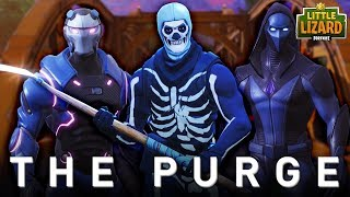THE PURGE IN FORTNITE #2 * SEASON 5 *Fortnite Short Film