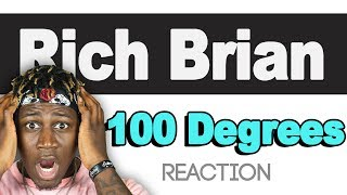 Rich Brian - 100 Degrees - Tm Reacts    2lm Reaction