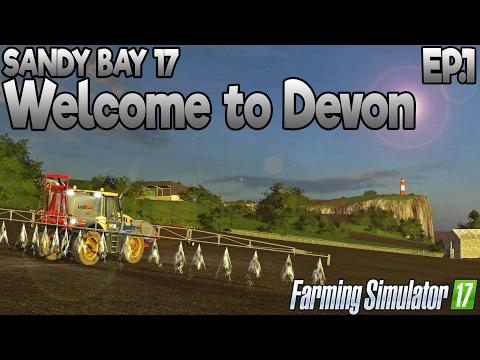 Sandy Bay 17 - Farming Simulator 17 -  Ep.1 (with Wheel Cam)