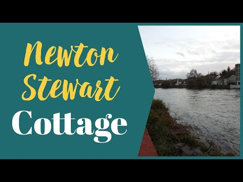 Video Tour of Minnow Cottage - Newton Stewart, Self Catering Holiday Property, November 2020