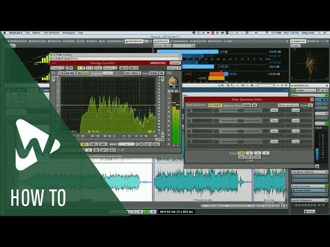How to Work with The Curve EQ in WaveLab | Q&A with Greg Ondo