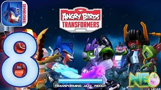 Angry Birds Transformers: Gameplay Walkthrough Part 8 - New Tool! (iOS, Android)