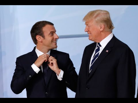 President Donald Trump SHOCKS Macron: Wants an Armed Forces Parade in America on 4th of July!!