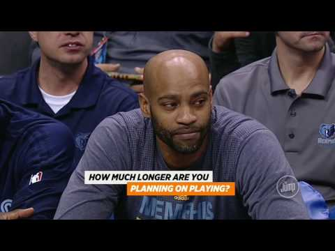 The Jump- Does Vince Carter believe Grizzlies can upset Warriors ? Tracy McGrady