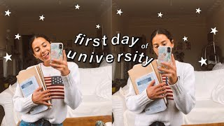 first day of university! day in my life at uni vlog ★