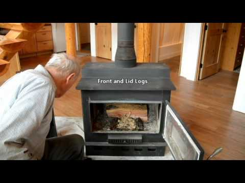 How to Build a Fire in a Wood Stove 10 21 16 - How To Build A Fire In A Wood Stove 10 21 16 - YouTube