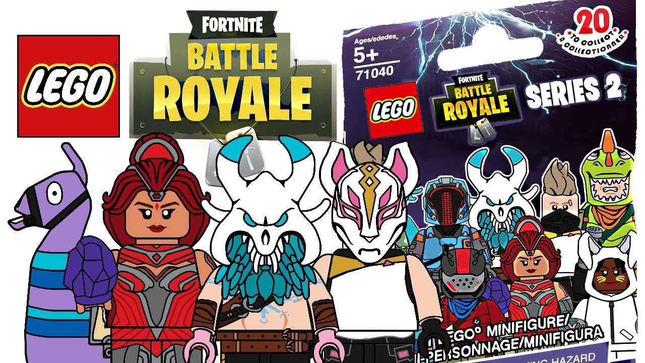LEGO Fortnite Minifigures Series 2 CMF Draft YouTube