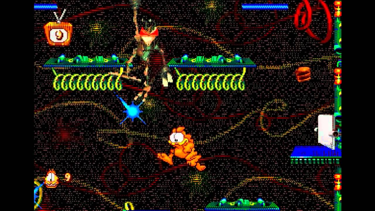 [Análise Retro Game Especial] - Garfield Caugth In The Act - Mega Drive Maxresdefault