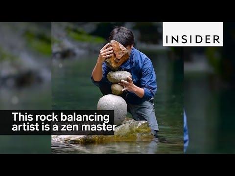 This Rock Balancing Artist Is A Zen Master Youtube