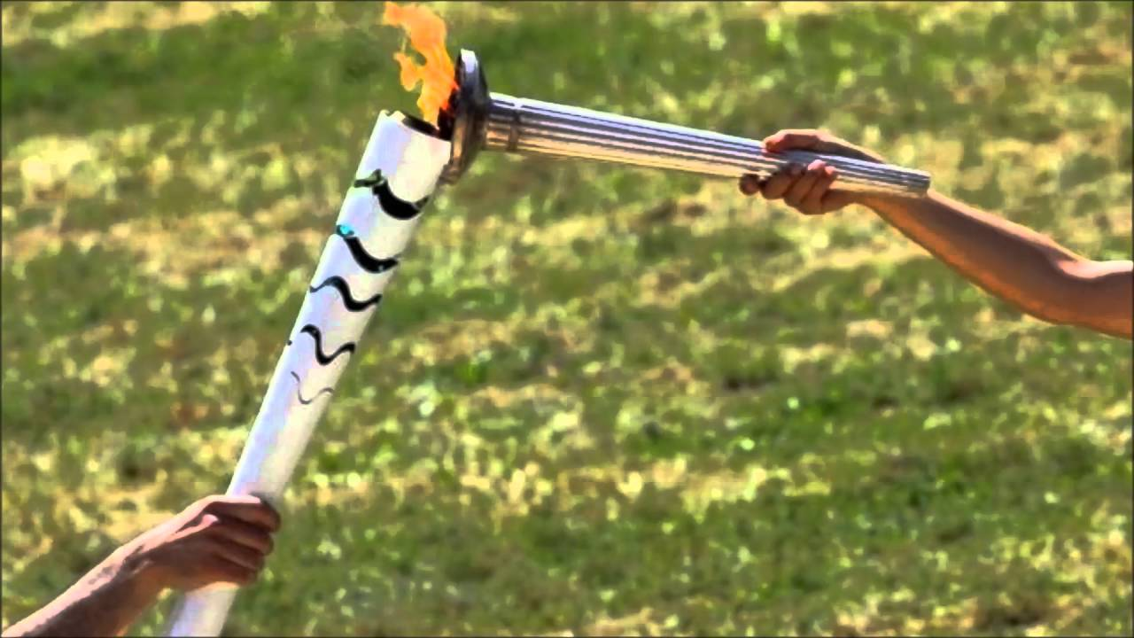Olympic torch for Rio games lit at ancient Greek site & Olympic torch for Rio games lit at ancient Greek site - YouTube