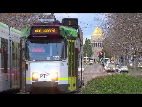 Trams in Melbourne, Australia 2017 - the Largest TramNetwork in the Wold!!!!