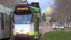 Trams in Melbourne, Australia 2017 - the Largest TramNetwork in the World!!!!