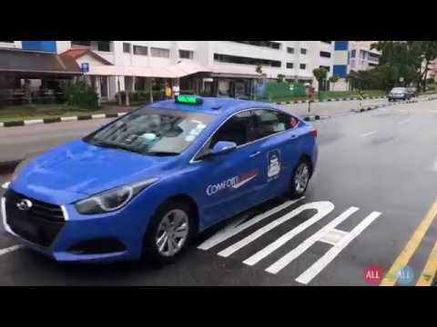 How To Book The Taxi In Singapore