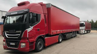 Truck driving IVECO Stralis XP 480 details LKW Test Iveco Cursor11 ZF-traxon deutsch/english