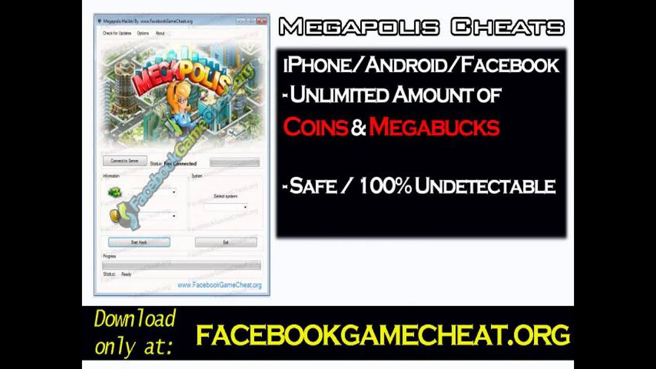 Megapolis Cheats