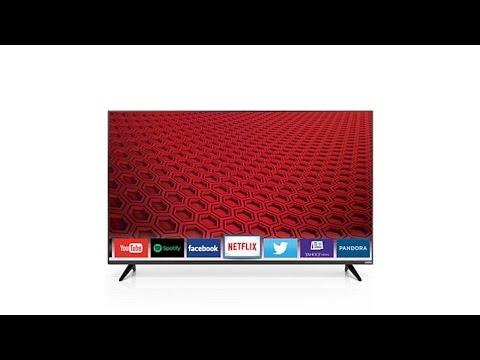 """VIZIO 43"""" Slim Smart 1080p LED HDTV with HDMI Cable"""