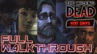 The Walking Dead: 400 Days - Full Episode Gameplay Walkthrough (Movie Marathon Edition)