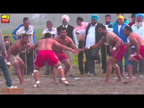 MADHO JHANDA (Kapurthala) || KABADDI CUP - 2015 || 1st. QUARTER FINAL || Full HD ||