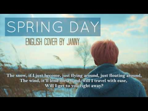 [Acoustic English Cover] BTS (방탄소년단) - Spring Day (봄날) by JANNY