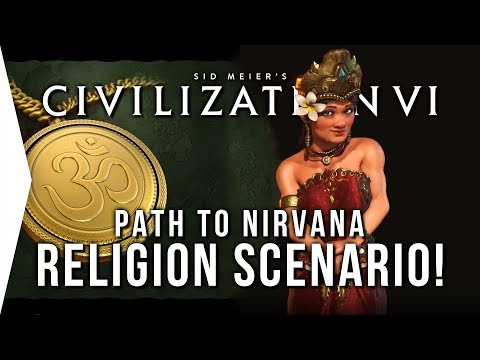 Civilization VI ► Indonesia Path to Nirvana Scenario & Religion Updates! - [Civ 6 Gameplay]