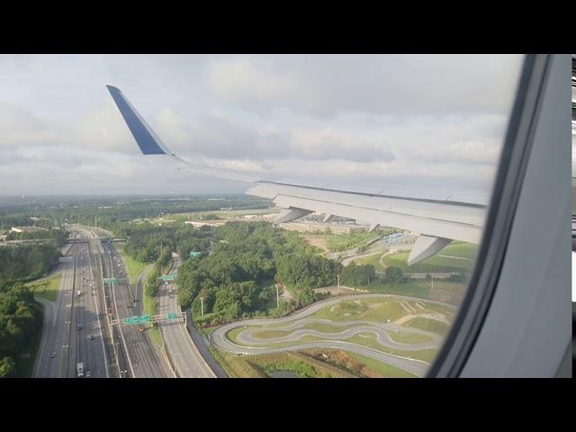 Delta Airbus A321-200(Sharklets) Landing in Atlanta