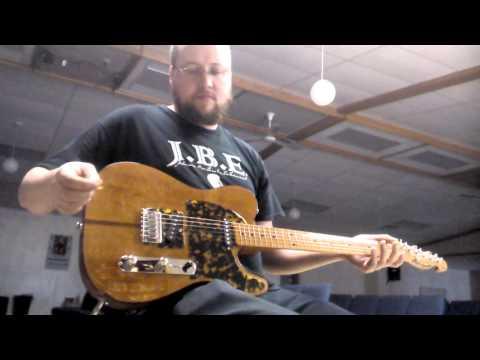 "H.S. Anderson ""Mad Cat"" 45th Anniversary Telecaster HS-1 testing/comparison"